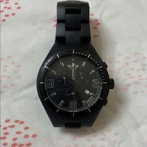 Men's Adidas black watch